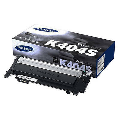 Genuine Samsung / Hp Xpress K404 Black Toner Cartridge (Clt-K404S / Els)