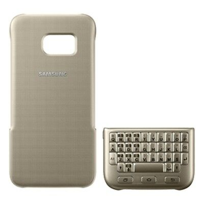 Samsung Original Case for Galaxy S7 Edge Keyboard Cover - Gold