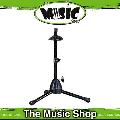New AMS Sturdy Steel Trumpet Stand with Foam Bell Protection Pads - BWA89