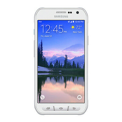 Samsung Galaxy S6 Active SM-G890A - 32GB -  UNLOCKED AT&T Smartphone WHITE