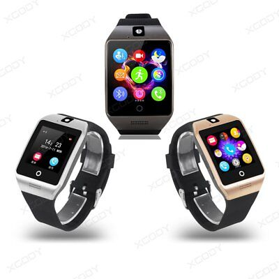 Bluetooth 3.0 Waterproof Smart Watch Phone Mate For Android IOS Samsung LG Sony