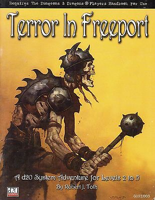 Dungeons & Dragons- Terror in Freeport-Adventure-d20-(SC)-engl.-very rare