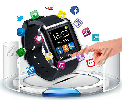 New Bluetooth Smart Wrist Watch Smartphone for IOS Android iphone Samsung HTC LG