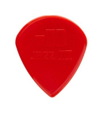 LOT DE 2 MEDIATORS Dunlop Jazz 3 Rouge