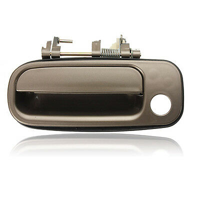 B390 For 92-96 93 94 95 Toyota Camry Rear Left Outside Door Handle Silver 176