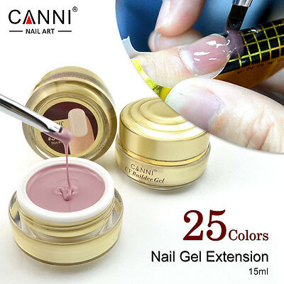 CANNI nail extension gel /thick builder gel natural camouflage UV gel 25 colours