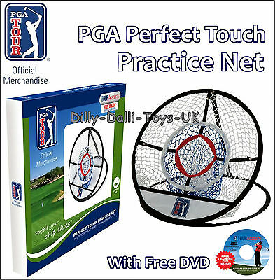 NEW Official PGA Tour Golf Chipping Net Pop Up Practice Target Perfect Touch