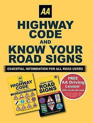Know Your Road Signs and Highway Code Twinpack by AA Publishing...