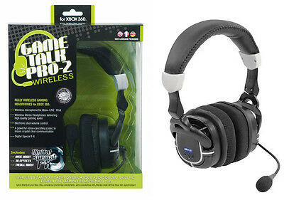 Datel Game Talk Pro-2 Wireless Gaming Headset for Xbox 360      HEADPHONES + MIC