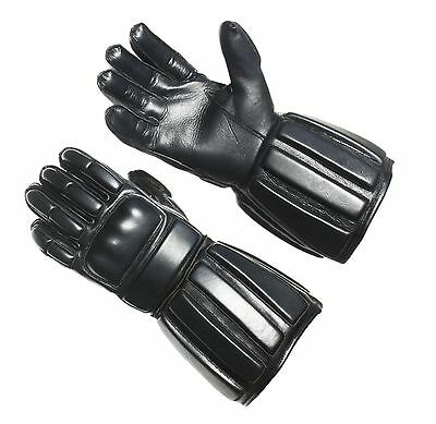 Padded Leather HEMA/WMA Sword fighting Training Gloves Historical Fencing Gloves
