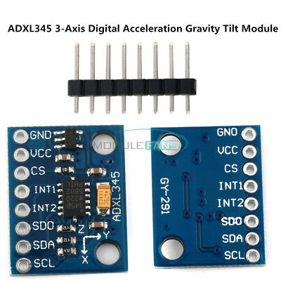 ADXL345 3-Axis Digital Acceleration Of Gravity Tilt Module  AVR ARM MCU Arduino