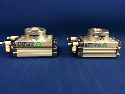SMC 11-MSQB10A cyl, rotary, clean room, MSQ ROTARY ACTUATOR W/TABLE