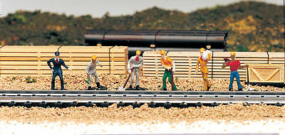 Train Work Crew-  HO - For Model Train Layout - Fully painted & assembled