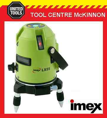 Imex Lx55 Multi-Plane 5-Line Laser Level – 2 Year Warranty