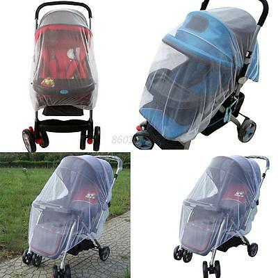 Universal Baby Buggy Pram Mosquito Cover Net Stroller Fly Insect Protector Cover