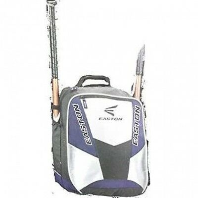 Easton Rampage Back Pack Bat Bag, Black/Silver. Delivery is Free