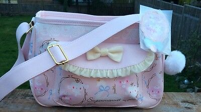 "Kawaii Pink ""sugarminuet"" purse by Sanrio"