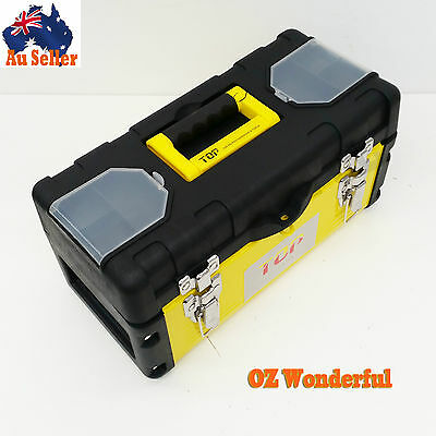 Plastic with Steel Cover Hardware tool box storage Home Toolbox WORKSHOPSepp1163