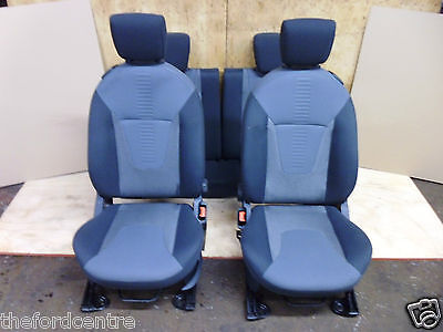 Genuine Ford Ka Interior Trim Front And Rear Seat Seats Set 2009 2010 2011- 2015