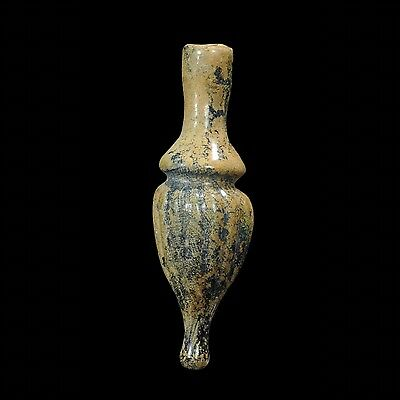 Aphrodite- Ancient Islamic Ribbed Glass Flask