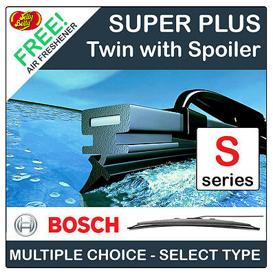 Bosch Spoiler Twin Front Windscreen Wipers - Specific Car Fitment (Spoiler Type)