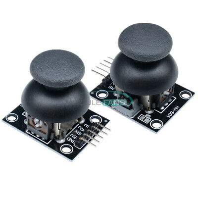2PCS 5Pin JoyStick Breakout Module Shield PS2 Joystick Game Controller AL