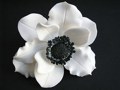 Cake Flowers/Gum Paste Flowers/Gum Paste/Cake Sugar Flowers - Anemone Flower