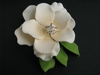 BOX SET Cake Flowers/Gum Paste Flowers/Sugar Flowers - Southern Magnolia Spray