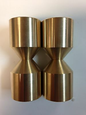 Standard Brass & Stainless Two Hole Pins