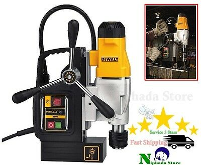 "DEWALT Professional 2"" 2-Speed Magnetic Drill Press Heavy Duty Quality Working"
