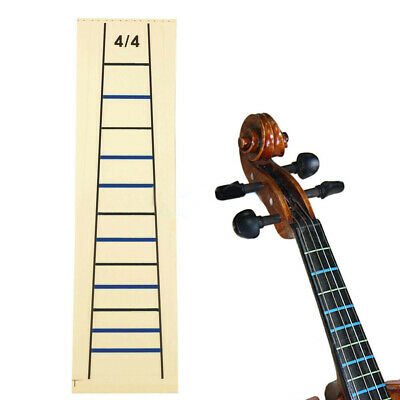 4/4 Violin Fretboard Sticker/Tape Fingerboard Fiddle Chart Correct Finger Marker