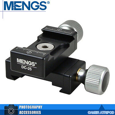MENGS DC-25 Double 2 Mini Quick Release Clamp Can Adjust On Two-Way