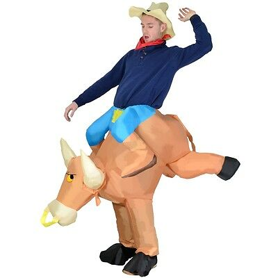 Inflatable Bull Halloween Fancy Dress Blow Up Party Cosplay Costume