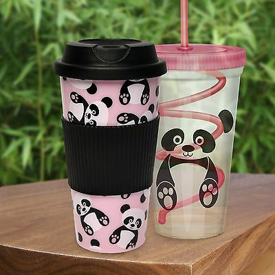 Panda Travel Cups Set