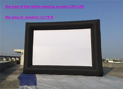 Inflatable Advertising Screen 13*10ft Movie Large  Screen Outdoor Indoor ON SALE
