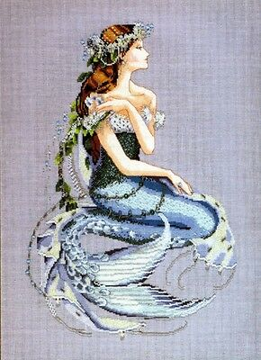 Mirabilia Enchanted Mermaid Cross Stitch Pattern. Delivery is Free