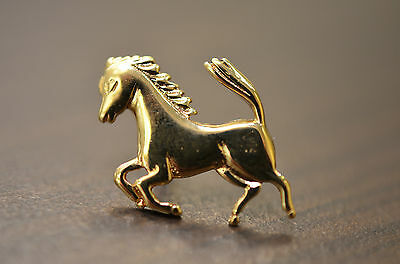 Pin's cheval - OR 18 CARATS - Badges horse - 18 CARAT GOLD
