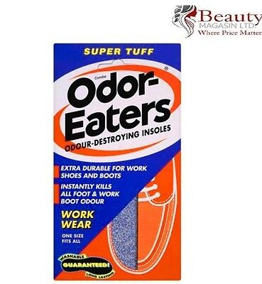 Odor - Eaters Super Tuff Deodorising Insoles Everyday Wear  Washable