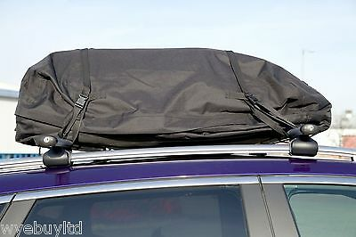 Roof bars & large roof bag for 5 door Ford Focus Grand C-Max year 2010-2013 rack