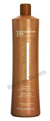 Cadiveu Brasil Cacau Brazilian Keratin Treatment Hair Straightening Mask Step 3