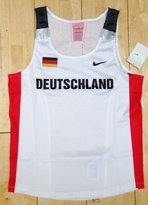 Nike Pro Elite Pro Issue Only Germany Race Day Track & Field Singlet IAAF New