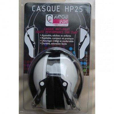 ACOUFUN HP25 Casque anti-bruit Haute performance- NEW