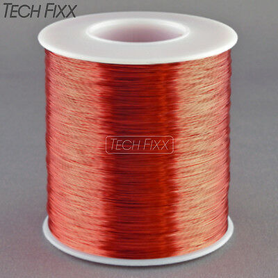 Magnet Wire 28 Gauge AWG Enameled Copper 1750 Feet Coil Winding 155C Red