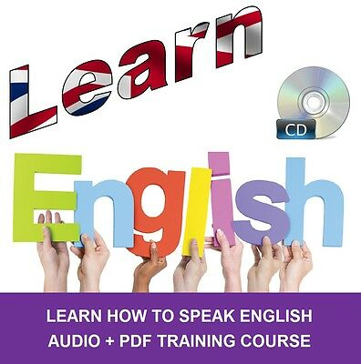 Learn How to Speak ENGLISH - Professional Audio Language Course CD DVD + PDF