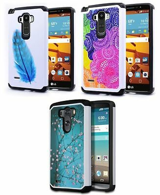 """Protective Rugged Hybrid Hard Stand Case Cover For 5.0"""" ASUS Zenfone 2E ZE500CL"""