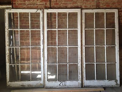 Triple French Doors Interior Architectural Salvage Antique 36 x 77