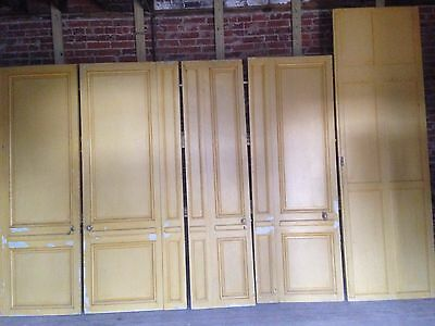 Vintage Doors and Wall Panel Lot of 5