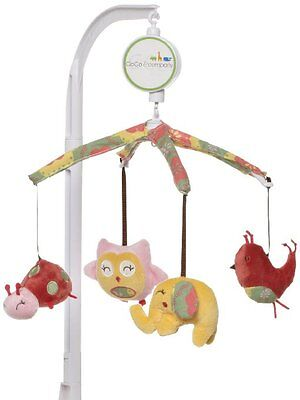 Cocalo - alphabet sweeties musical mobile for baby and infant nursery