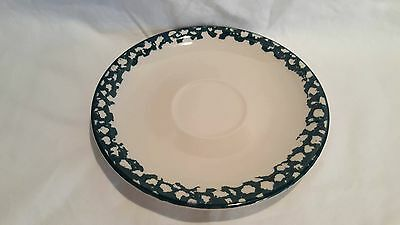 Tienshan Folk Craft APPLE Green Sponge Saucer (s) 6.25 Inches excellent (6 avai)