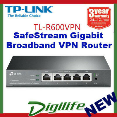 TP-LINK TL-R600VPN SafeStream Gigabit Broadband VPN Router
